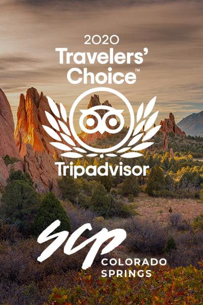 SCP Colorado Springs - Travelers' Choice 2020 Award