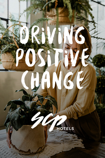 SCP Hotels - Driving Positive Change
